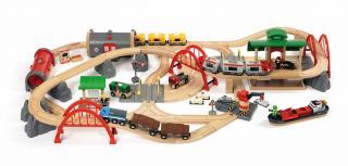 BRIO Deluxe Railway Train Set - 33052