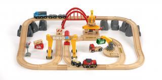 BRIO Cargo Railway Delux Train Set - 33097