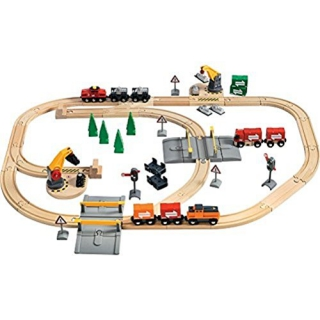 BRIO Lift and Load Railway Set 33165