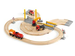 BRIO Rail & Road Crane Set 33208