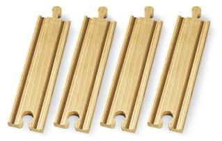 BRIO Medium Straight Tracks - 33335