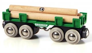 BRIO Lumber Wagon 33696