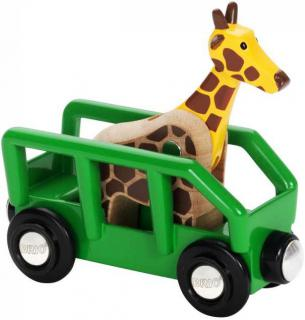 BRIO Giraffe and Wagon 33724