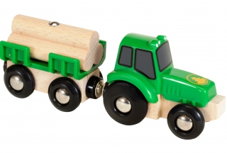 BRIO Tractor with Load 33799