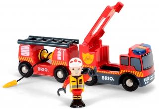 BRIO Emergency Fire Engine 33811