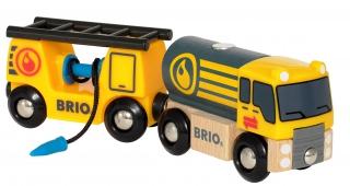 BRIO Tanker Truck with Wagon