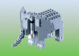 BRIXIES Elephant 200092