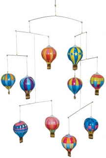 SCHYLLING Hot Air Balloon Mobile