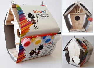 Khoki Paint Your Own Bird House