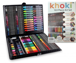 Khoki 163 Piece Art Set