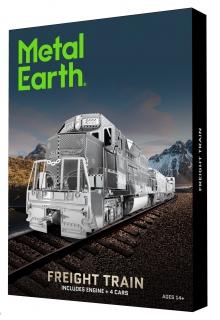 Metal Earth Freight Train Gift Box Set MMG104