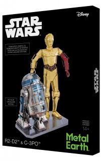 Metal Earth R2-D2 & C-3PO Gift Box Set MMG276