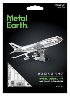 Metal Earth Boeing 747 MMS004