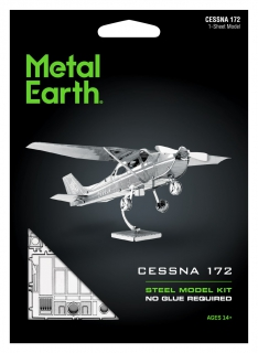 Metal Earth Cessna 172 MMS045