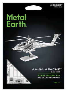 Metal Earth AH-64 Apache MS083