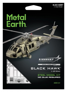 Metal Earth Black Hawk (UH-60) MMS461