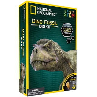 National Geographic Dino Fossil Dig Kit 6128