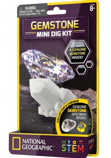 National Geographic Gemstone Mini Dig Kit 6203