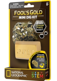 National Geographic Fool's Gold Mini Dig Kit 6234