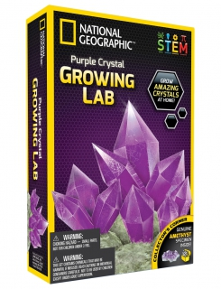 National Geographic Purple Crystal Growing Lab 6326