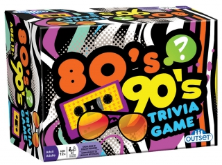OUTSET 80's 90's Trivia Game 13337