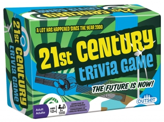 OUTSET 21st Century Trivia Game 13349