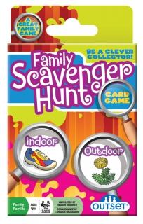 OUTSET Family Scavenger Hunt Card Game 19173