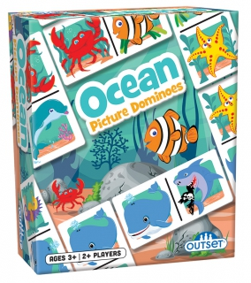 OUTSET Picture Dominoes: Ocean 19208