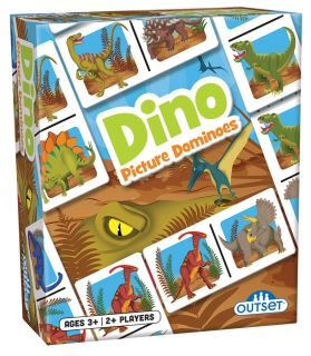 OUTSET Picture Dominoes: Dino 19209