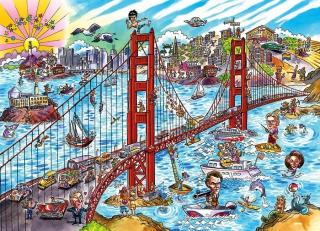 COBBLE HILL - DoodleTown: San Francisco