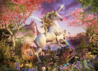 COBBLE HILL Realm of the Unicorn 54634