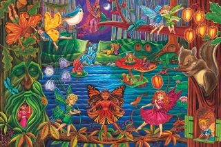 COBBLE HILL Fairy Forest 55107
