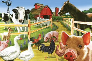 COBBLE HILL Farmyard Welcome 58880