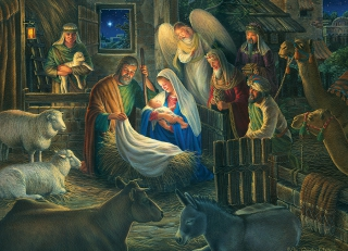 COBBLE HILL Away in a Manger 85040