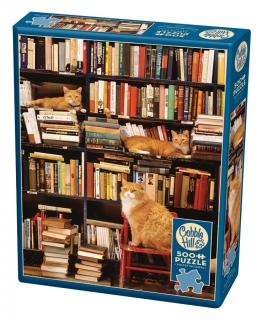 COBBLE HILL Gotham Bookstore Cats 85080