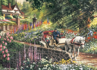 COBBLE HILL Carriage Ride 88028