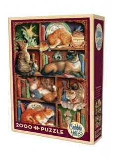 COBBLE HILL Feline Bookcase 89001