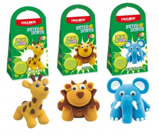 PAULINDA Fun 4 One Super Dough Wild Animal Bundle PL0001