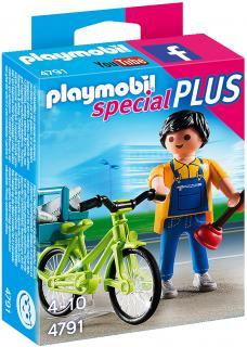 Handyman with Bike 4791