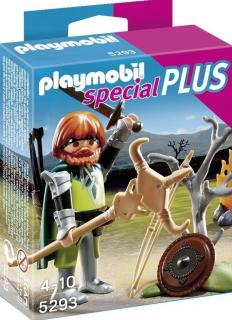 Playmobil Celtic Warrior with Campfire 5293