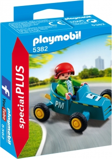 Boy with Go-Kart 5382