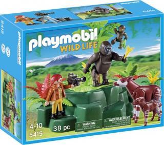 Playmobil Gorillas and Okapis with Film Maker 5415