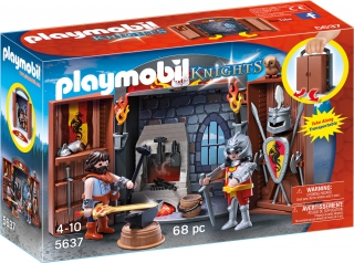 Playmobil Knights' Armoury Play Box 5637