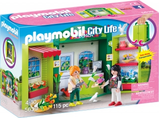 Playmobil Flower Shop Play Box 5639