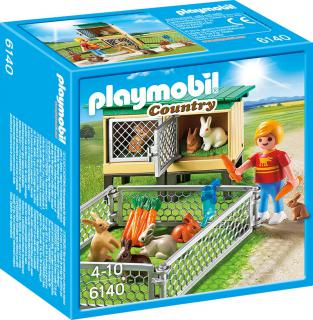 Playmobil Rabbit Hutch 6140