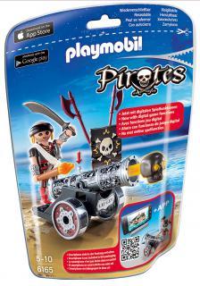 Playmobil Black Cannon & Raider 6165
