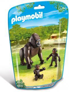 Playmobil Gorilla & Babies 6639