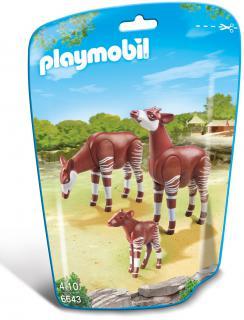 Playmobil Okapi Family 6643
