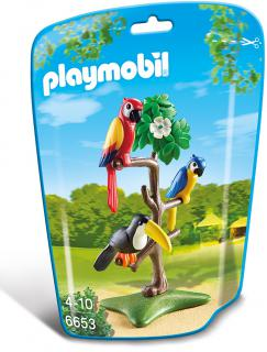 Playmobil Tropical Birds 6653