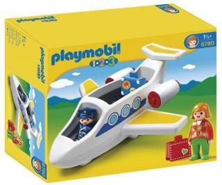 Playmobil 1.2.3 Personal Jet 6780